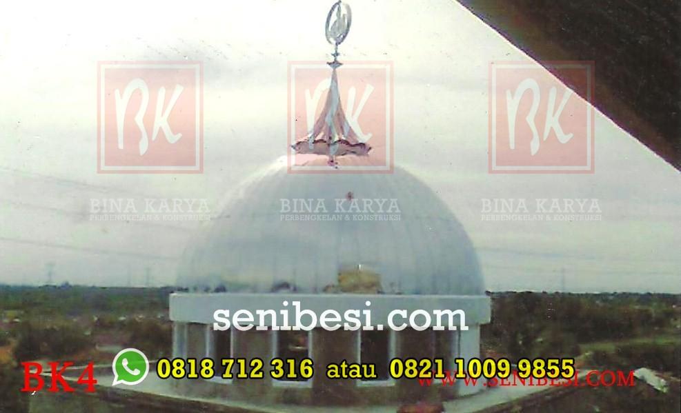 Kubah Masjid dan Turbin Ventilator