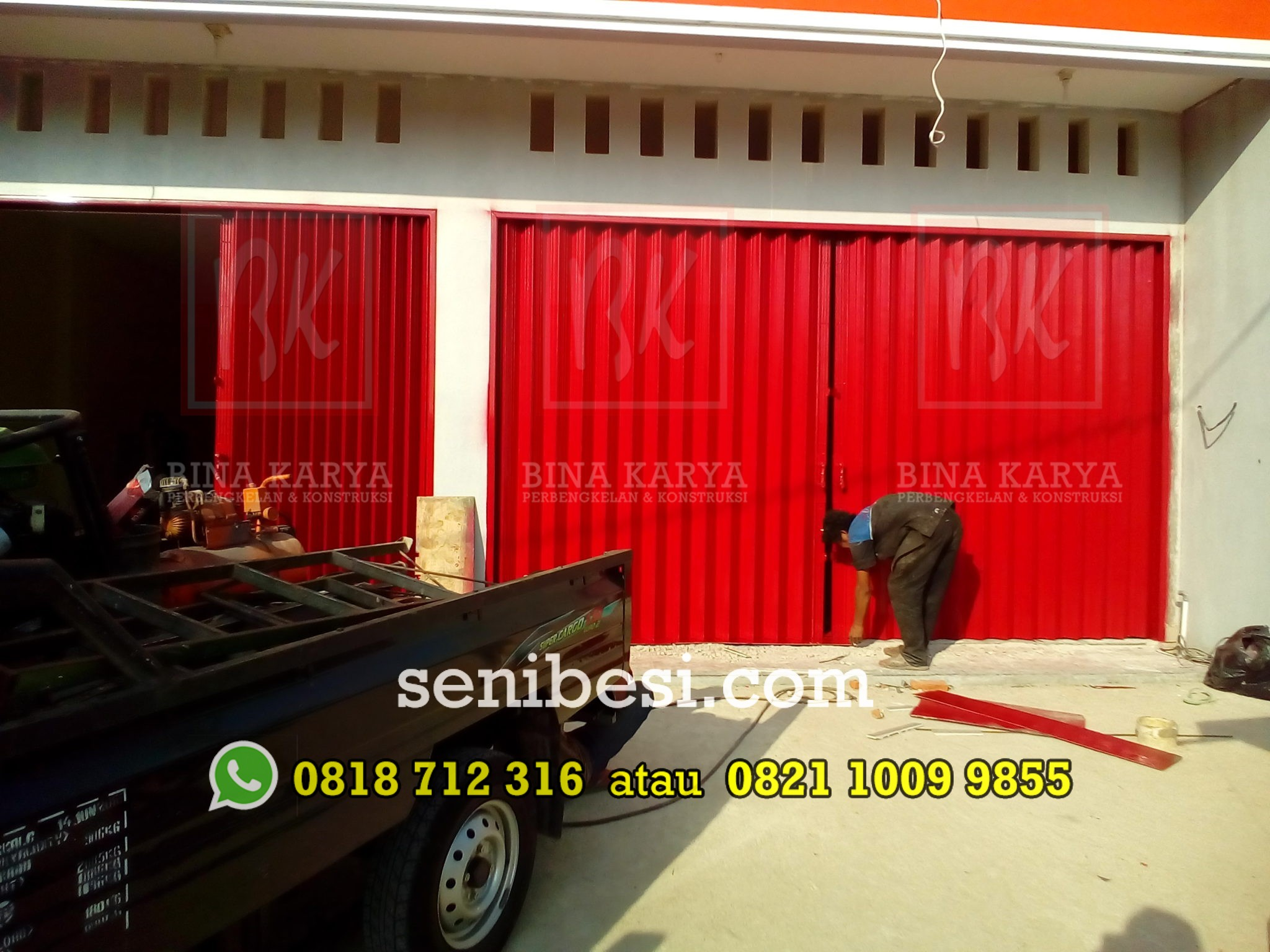 Folding Gate & Pintu Gerbang