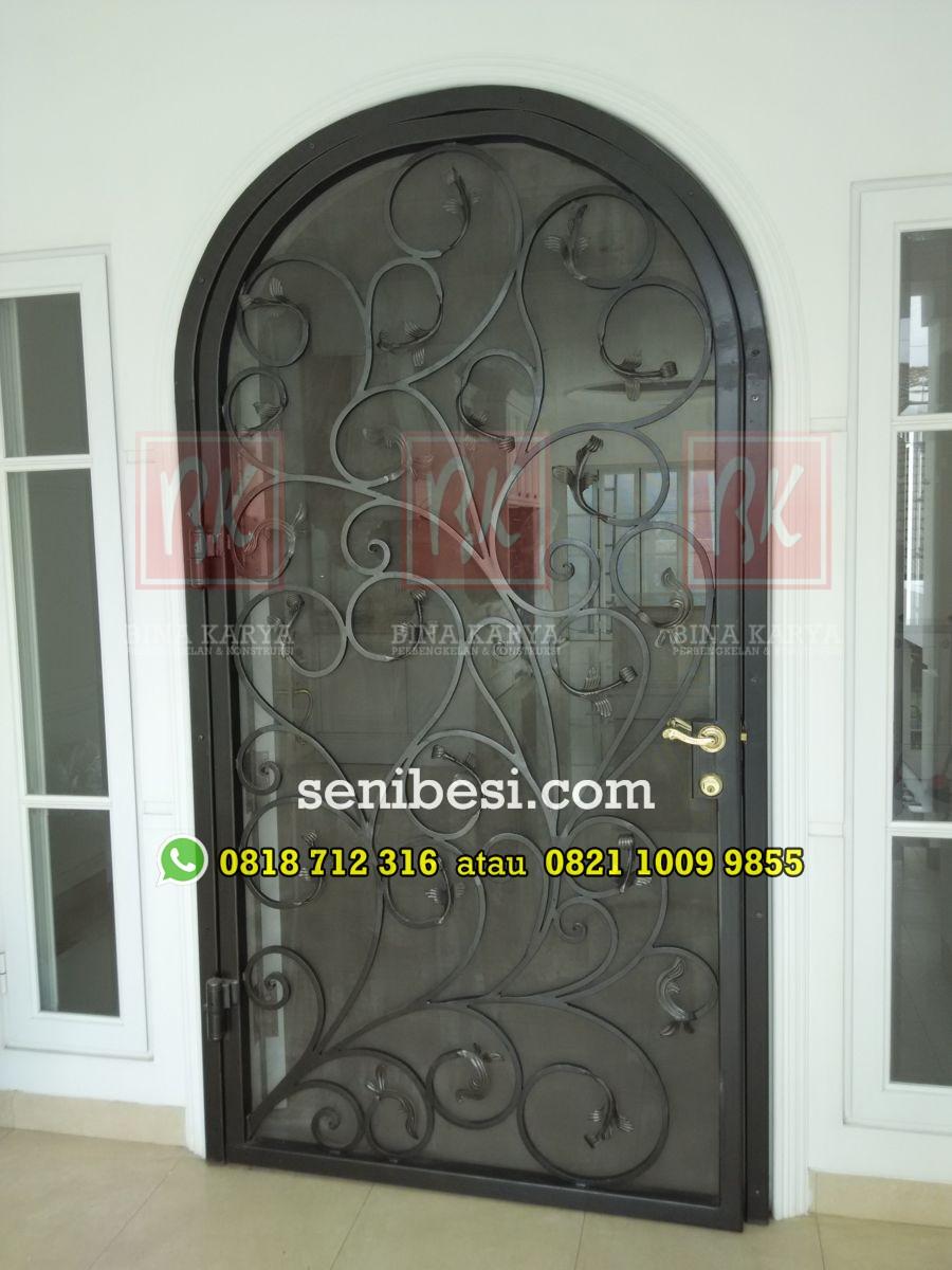 Gambar Pintu Besi Model Terbaru - Pagar Rumah